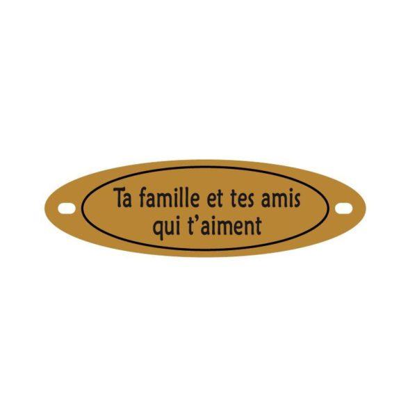article funeraire inter personnalisable