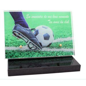 plaques funeraires modernes originales footbal