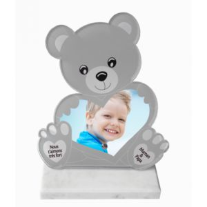 plaque funeraire originale photo enfant