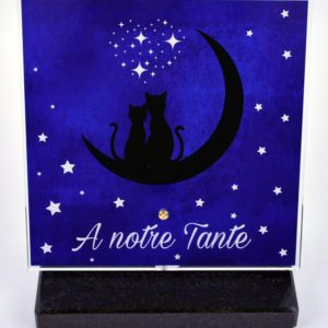 plaque tombale chat