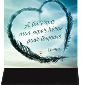 plaque funeraire papa